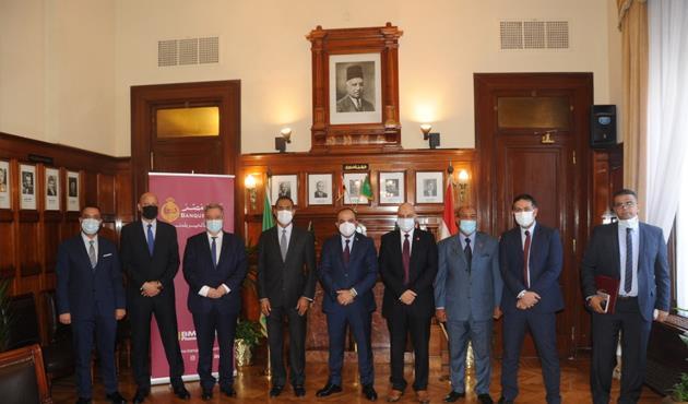 بنك مصر يوقع بروتوكولا مع شركة غاز القاهرة لتمويل المصانع للتحول للغاز الطبيعي
