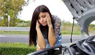 عندما تحترق سيارتك فى الصيف  اثناء توقفها دونن تشغيل اعرف انك نسيت العلبه !!