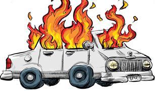 التدرج في تشغيل المكيف.. 10 إجراءات لتجنب حرائق الصيف في سيارتك