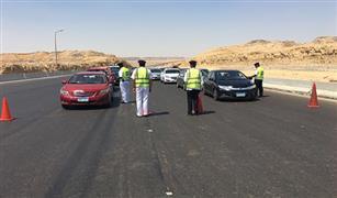 انتظام الحركة المرورية على معظم الطرق بعد اجازة العيد