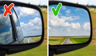 أسهل طريقة لضبط مرايا سيارتك بطريقة صحيحة